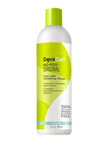 devacurl nopoo original zero lather conditioning cleanser
