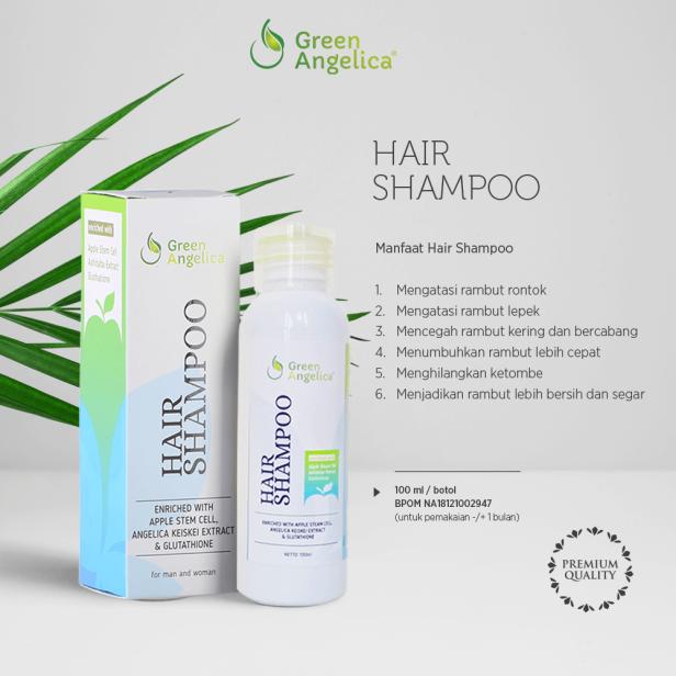 hair shampoo green angelica