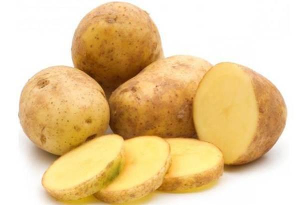 kentang pemutih wajah