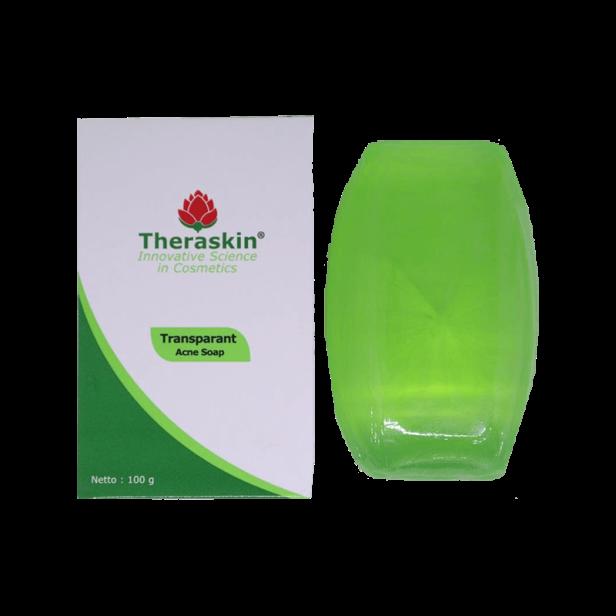 theraskin transparant acne soap